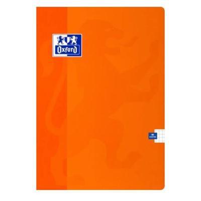 Zeszyt OXFORD ESSE A5 kratka 60 kart. 90g pomarańc-43113