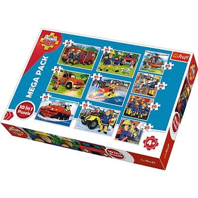 Puzzle 10 w 1 ekipa ratunkowa Strażak Sam 90356-37899