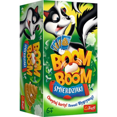 Gra Boom Boom Śmierdziaki planszowa Trefl 01910-46427