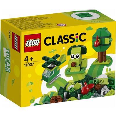 LEGO Classic - Zielone klocki kreatywne 11007-46278