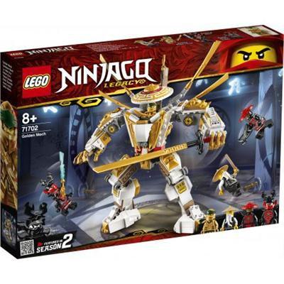 LEGO 71702 NINJAGO Zlota zbroja-38682