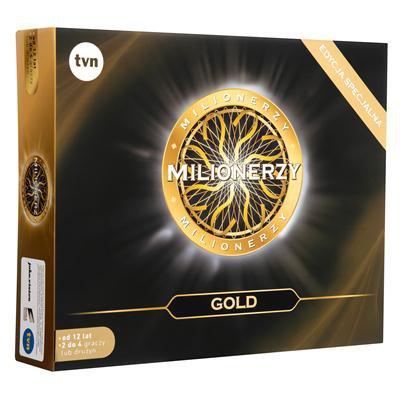 MILIONERZY EDYCJA ZŁOTA GOLD EDITION GRA PLANSZOWA-46011