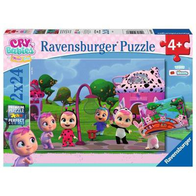 RAVENSBURGER PUZZLE 2x24EL CRY BABIES MAGIC TEARS-46025