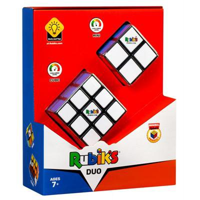 Oryginalna KOSTKA RUBIKA ZESTAW DUO 2x2 + 3x3-45996