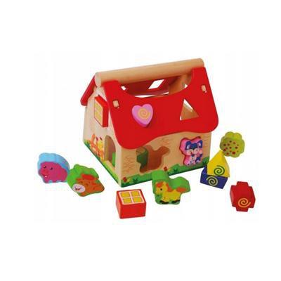 Domek, drewniany sorter-46554