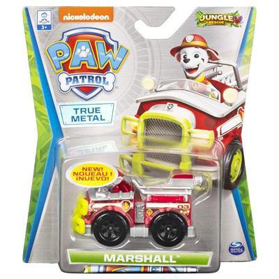 Metalowy pojazd z figurką Marshala - Psi patrol-47773
