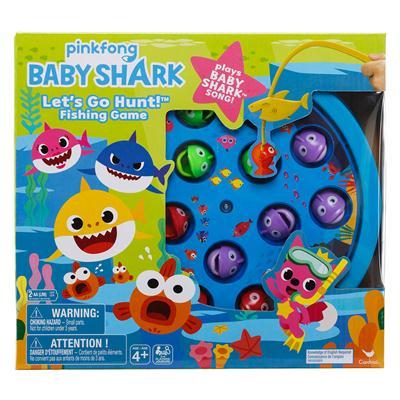 Gra Baby Shark - łowienie rybek-47820