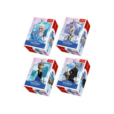 PUZZLE MINI 54 FROZEN 19500-17159