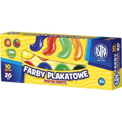 FARBY PLAKATOWE ASTRA 10KOL 20ML-39242