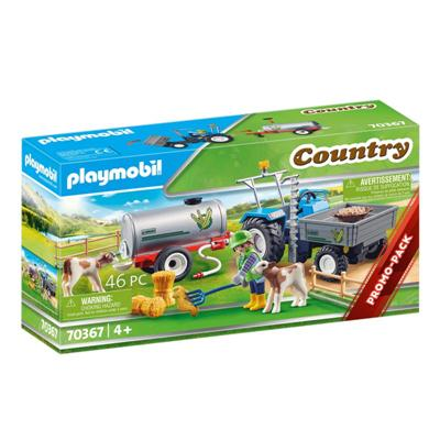Playmobil 70367 - Traktor ze zbiornikiem na wodę -48543
