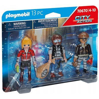 Playmobil - Zestaw figurek złodziei 70670-48515