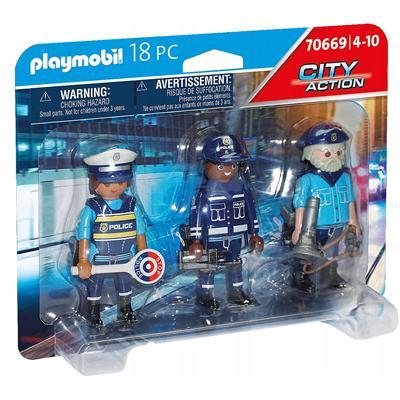 Playmobil - Zestaw figurek policjantów 70669-48512