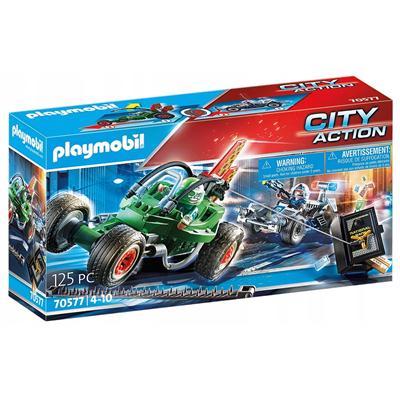 Playmobil - Pościg gokartem policyjnym 70577-48496