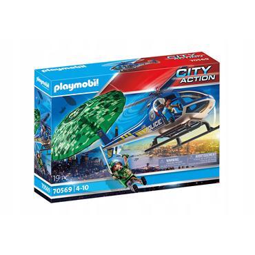 Playmobil 70569 - Ucieczka ze spadochronem