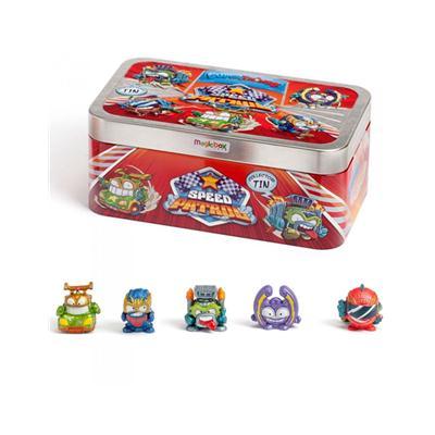 Puszka Super Things z 5 figurkami Speed Patrol-49282
