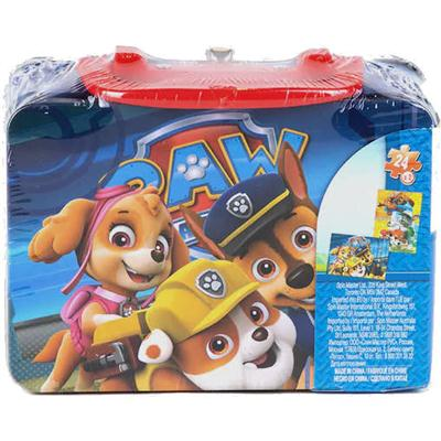 Puzzle 3D Psi Patrol w walizce 2x24 elementy-49371