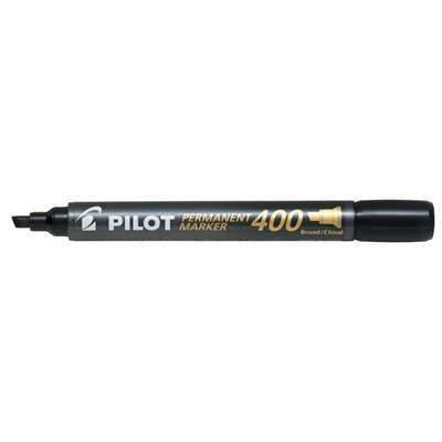 Marker permanentny Pilot SCA-400 ścięty, czarny-49734
