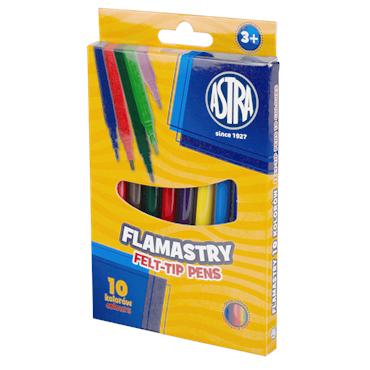 Flamastry Astra 10 kolorów