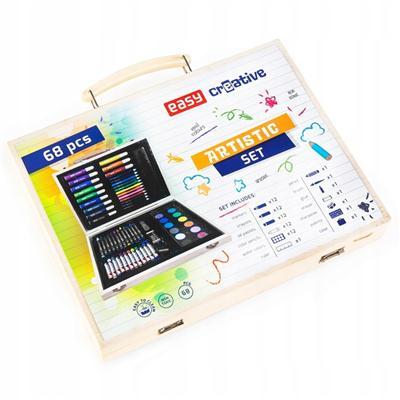 Zestaw artystyczny Easy 68 elementów w walizce-49723