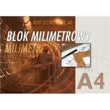 Kreska Blok milimetrowy A4 20 kartek