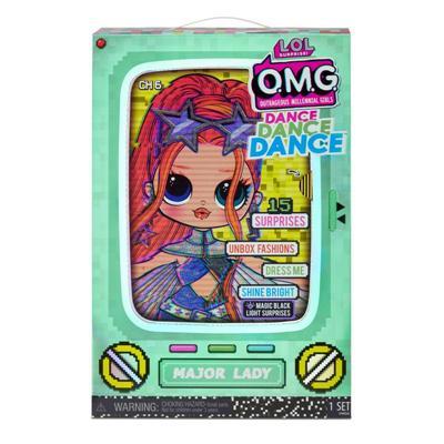 LOL Surprise Lalka OMG Dance Major Lady -50250