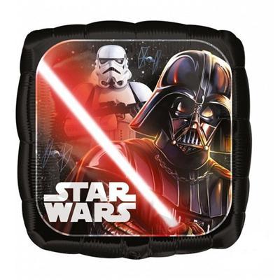 Balon foliowy Star Wars dwustronny wzór 43 cm-51275