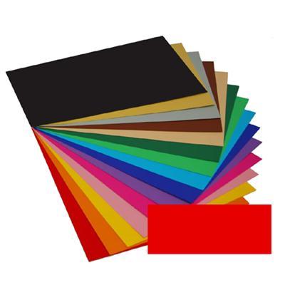 Kreska Karton A4 170 g/m2 Czerwony 20 arkuszy-52117