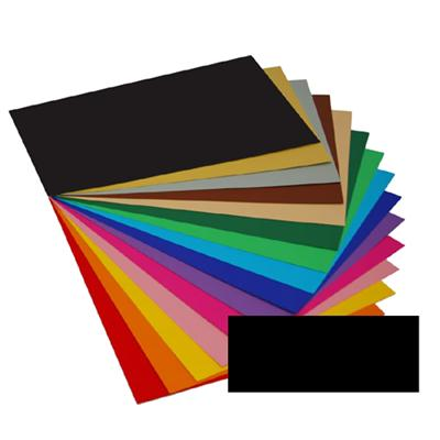 Kreska Karton A4 170 g/m2 Czarny 20 arkuszy-52118