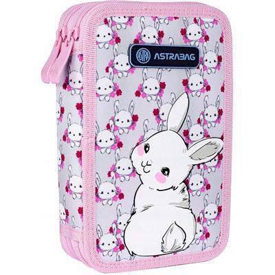 Piórnik podwójny Astrabag Sweet Bunny-52458