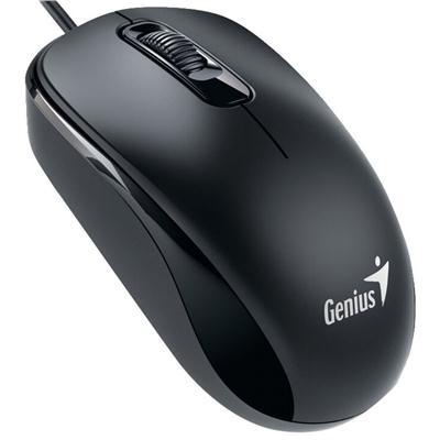 Mysz Genius RS DX-110 Delikatna czerń-53767
