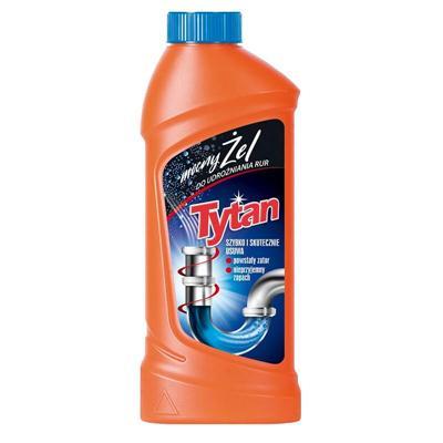 Żel do udrożnienia rur Tytan 500g-53046
