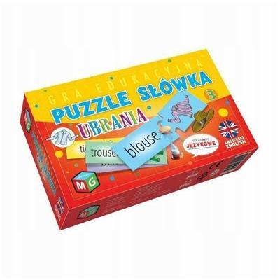 Puzzle słówka Ubrania-54432