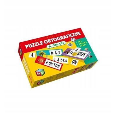 Puzzle ortograficzne Ą OM ON-54434