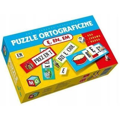 Puzzle ortograficzne Ę EN EM-54435