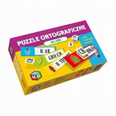 Puzzle ortograficzne H i CH-54436