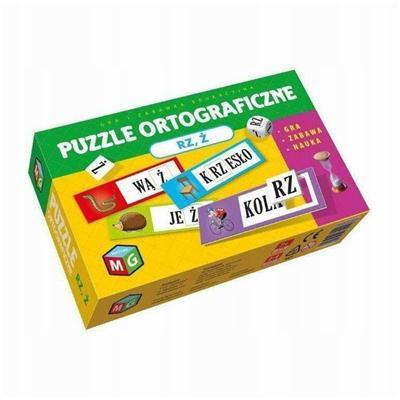 Puzzle ortograficzne RZ i Ż-54437