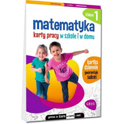 Matematyka SP 1 Karty pracy w szkole i w domu