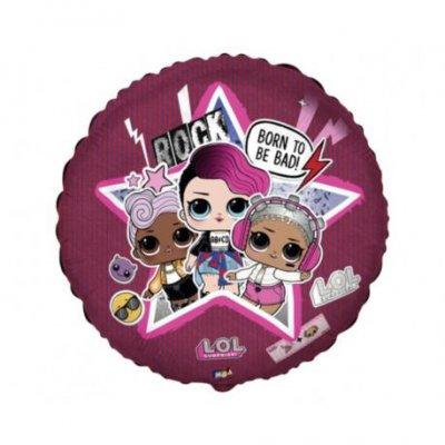 "Balon foliowy 18"" FX - LOL: Born To Be Bad"