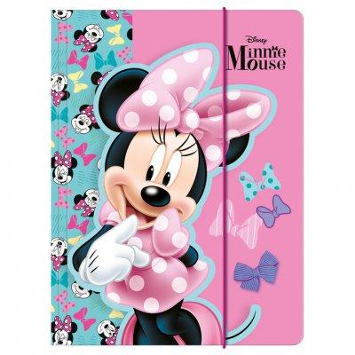 Teczka z gumką A4 Myszka Minnie