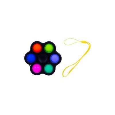 Zabawka sensoryczna antystresowa POP IT Spiner 6 r