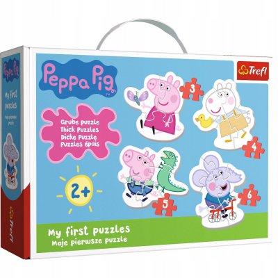 Puzzle Baby Classic Urocza Świnka Peppa 36086 Tref