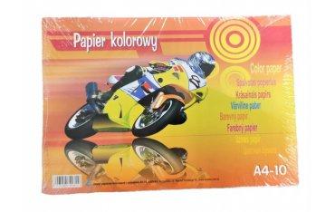 Kreska Zeszyt papierów kolorowych z połyskiem A4