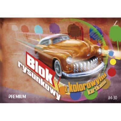 Blok Rysunkowy Kolor A4/30 Kreska Premium