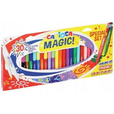 Carioca Pisaki Magic 30 szt.fluo wymazywalne 43183