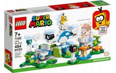 LEGO 71389 SUPER MARIO Podniebny świat Lakitu — ze