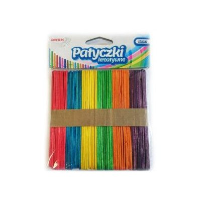 Patyczki kolorowe jumbo 11.4 cm PKD114
