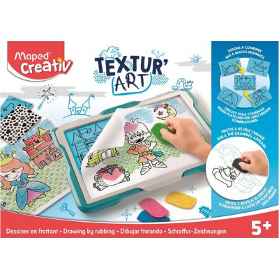 Maped Creativ tablica Textur'Art odrysowywanie/tek