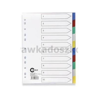PRZEKŁADKI KARTONOWE 1-10 KOLOR TT 48-220021