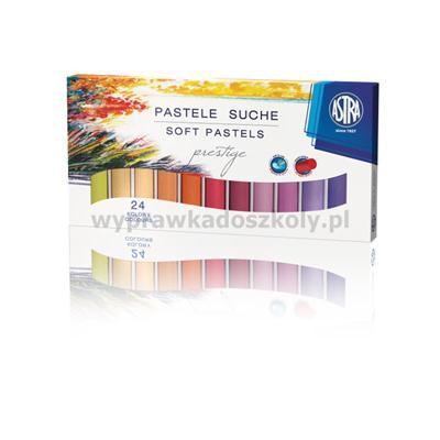 PASTELE SUCHE 24 kolory PRESTIGE ASTRA