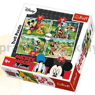 Zabawy w parku - Puzzle 4w1 34261